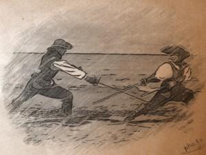 Фехтование Шпага с дагой