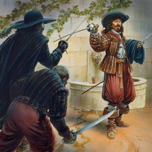 фехтовальщик и бандиты